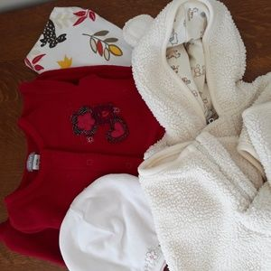 Baby bundle, 4 items, 3-6 months